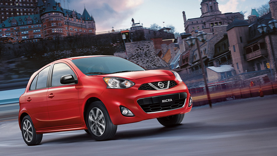 2015 Nissan Micra Exterior Front