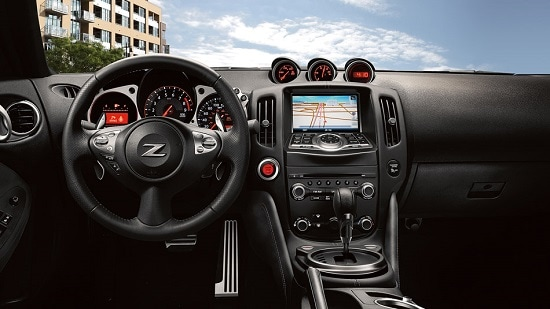2014 Nissan 370Z Touring Interior