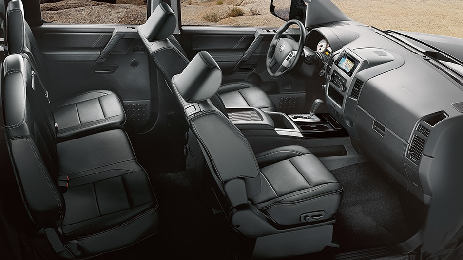 2014 Nissan Titan Interior Seating