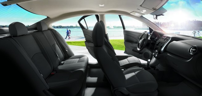 2014 Nissan Versa Sedan Interior Seating