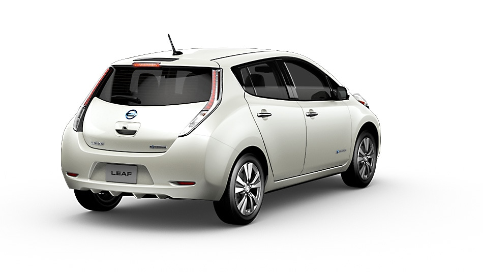 2015 Nissan Leaf Exterior Rear