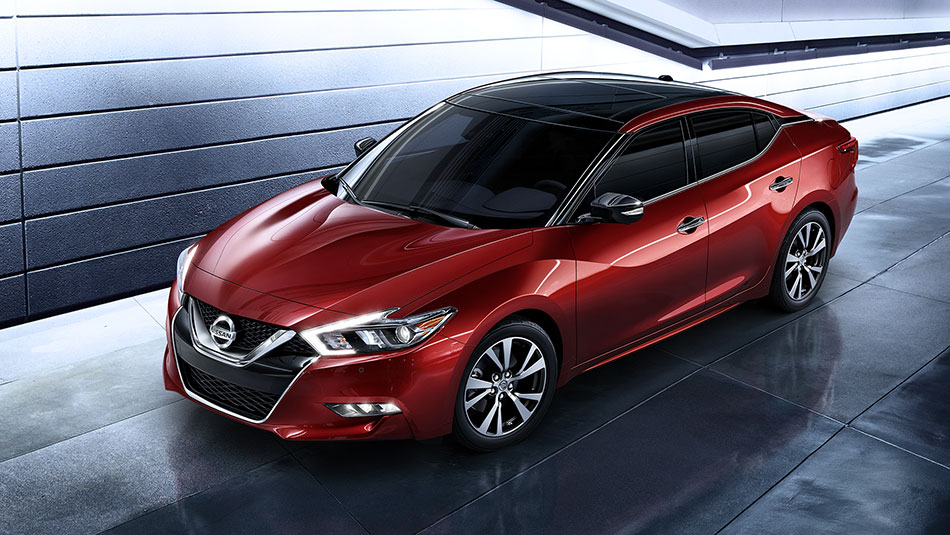 2017 Nissan Maxima Exterior Side View