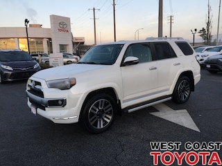 2016 Toyota 4Runner LIMITED 7 PASSENGER-LOW KILOMETRES/1 LOCAL OWNER SUV