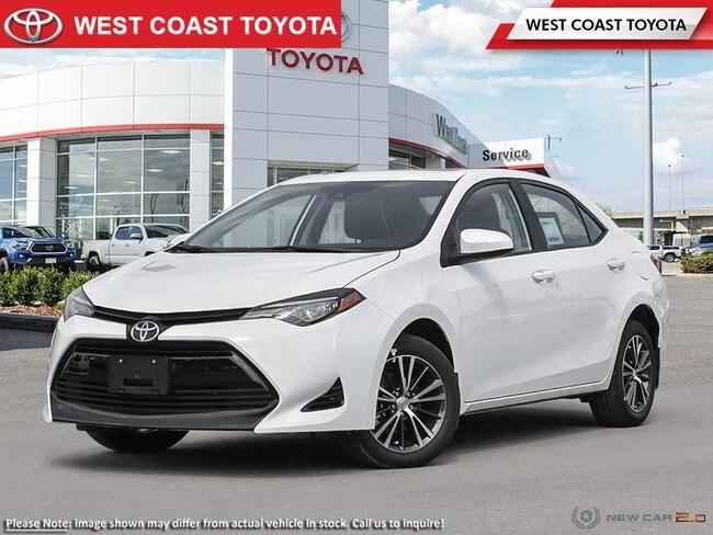 2019 Toyota Corolla LE CVT Upgrade Package Sedan
