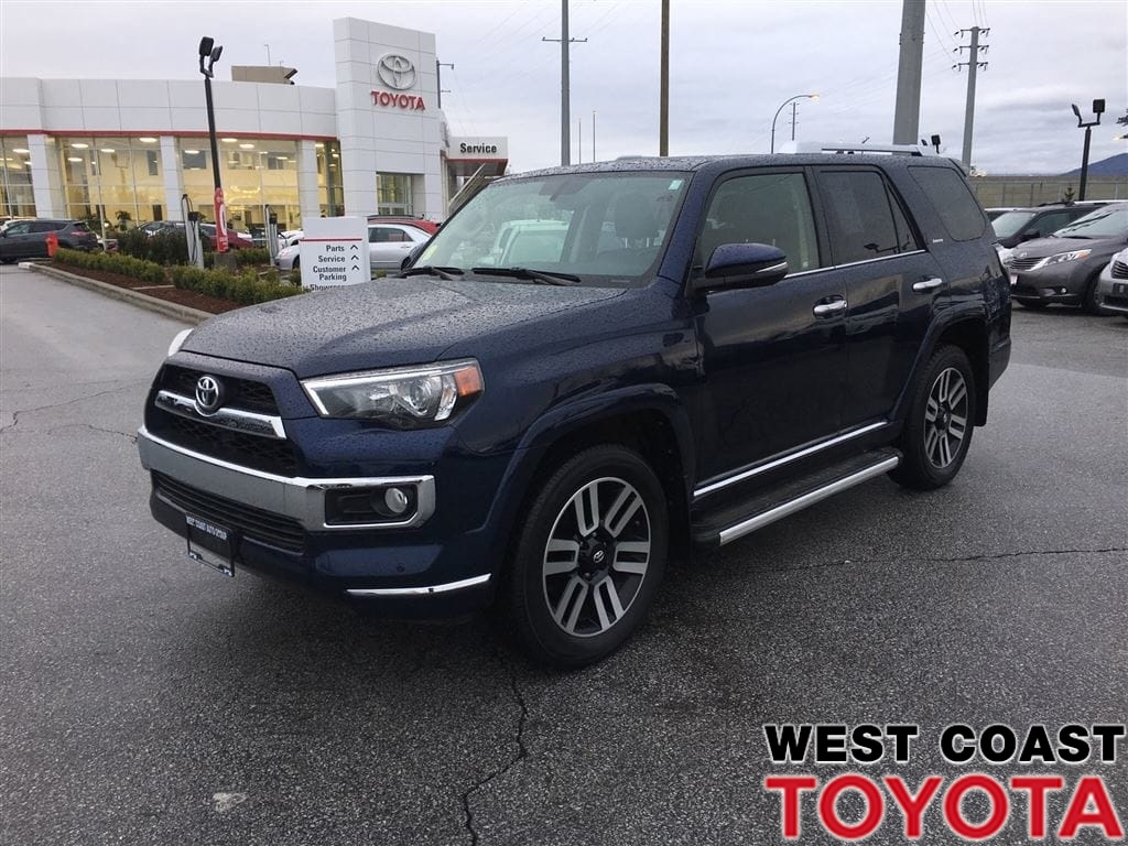 2016 Toyota 4Runner LIMITED-NO ACCIDENT CLAIMS/7 PASSENGER SUV