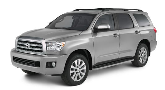 2014 Toyota Sequoia Exterior Front End