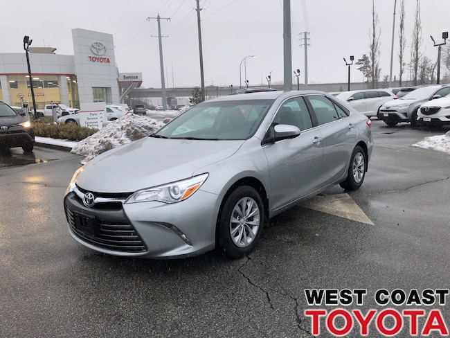 Certified Used 2017 Toyota Camry For Sale Pitt Meadows Vancouver Bc