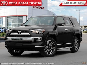 2018 Toyota 4Runner Limited Package 7 Passenger