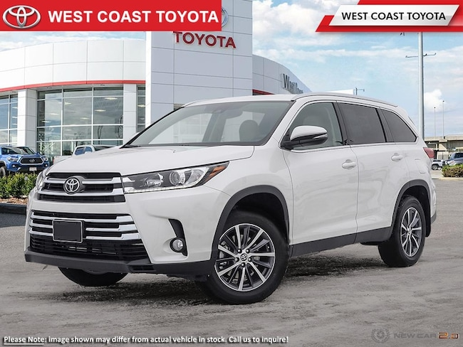 New 2019 Toyota Highlander For Sale Pitt Meadows Vancouver Bc