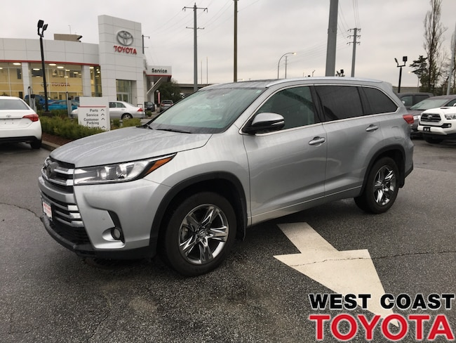 2017 7 Passenger Suv >> Certified Used 2017 Toyota Highlander For Sale Pitt Meadows