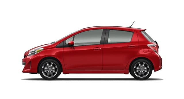 2014 Toyota Yaris Exterior Side View