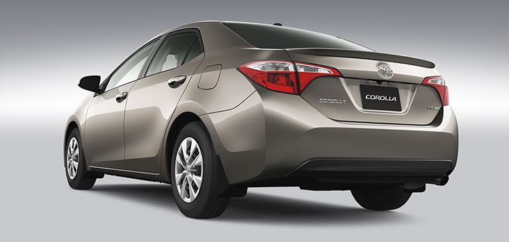 2014 Toyota Corolla Exterior Rear End