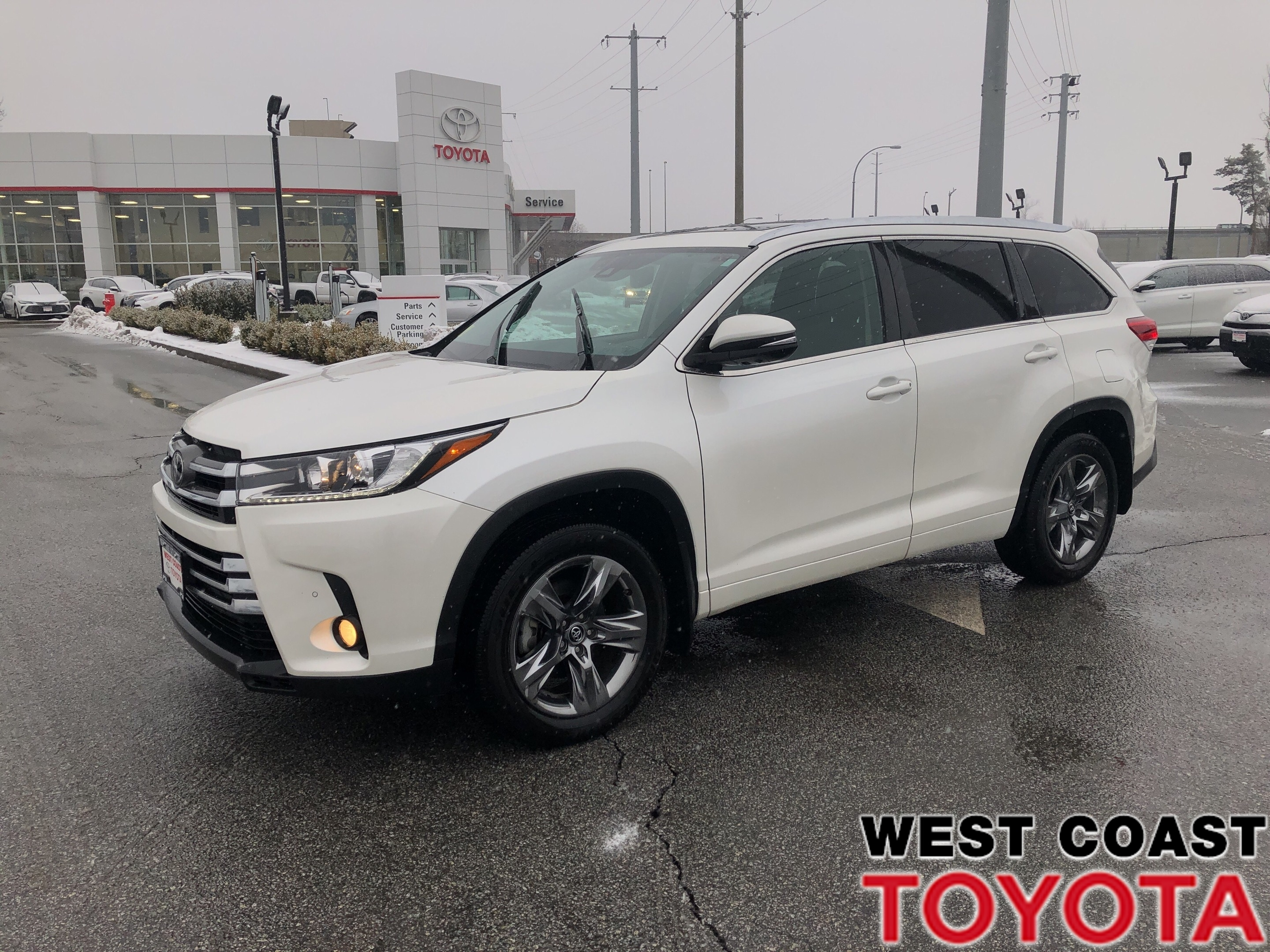 2017 Toyota Highlander LTD-NO ACCIDENT CLAIMS/LOW KILOMETRES SUV