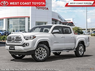 2019 Toyota Tacoma 4X4 Double Cab V6 Limited Short Box Truck Double Cab