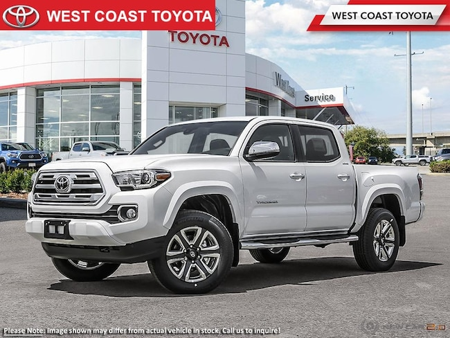 2018 Toyota Tacoma 4X4 Double Cab V6 Limited Short Box Truck Double Cab