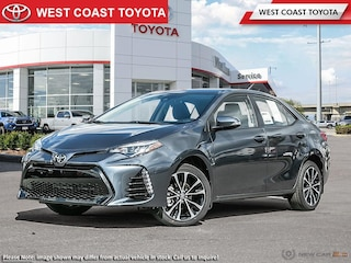2019 Toyota Corolla SE CVT Upgrade Package Sedan