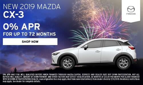 July | 2019 Mazda CX-3
