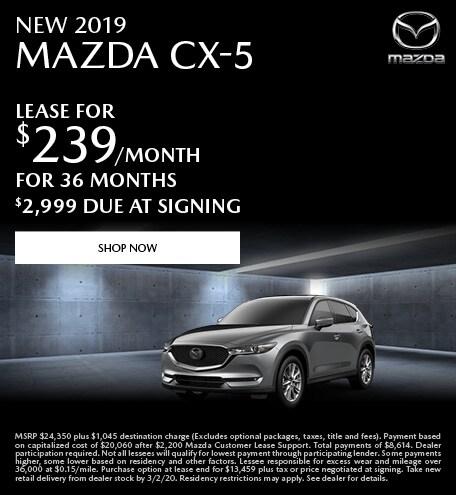 February | 2019 Mazda CX-5