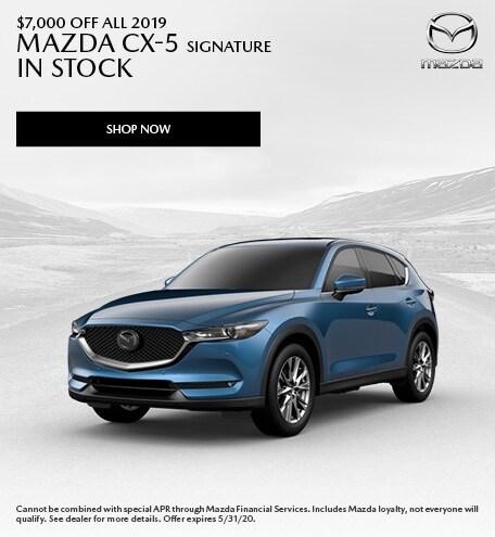 May | 2019 Mazda CX-5 Signature
