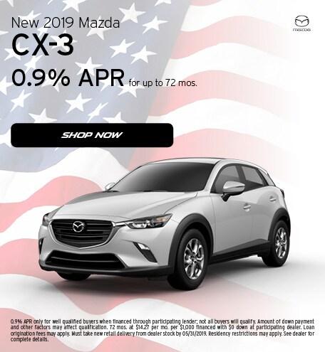 May 2019   2019 Mazda CX-3