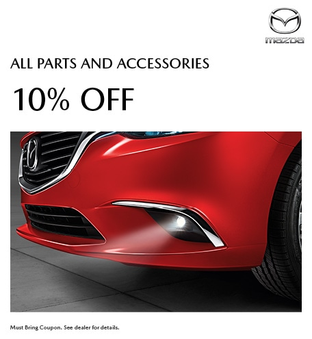 10% Off All Parts and Accessories
