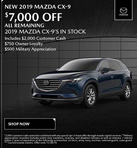 November | Mazda CX-9
