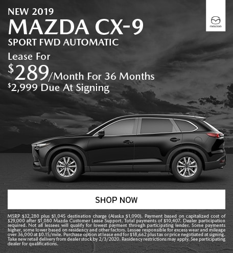 January   2019 Mazda CX-9