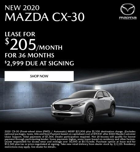 February | 2020 Mazda CX-30