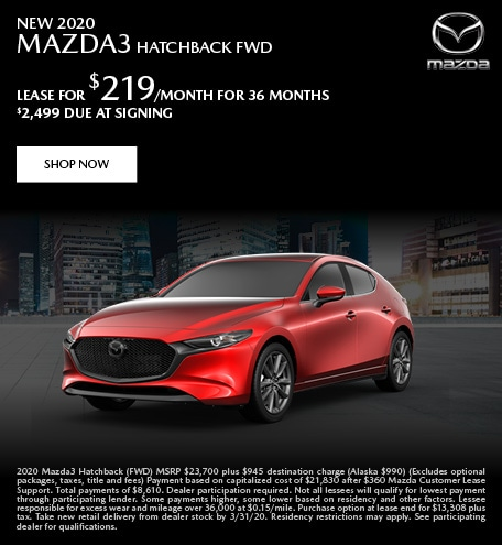 March | 2020 Mazda3 Hatchback