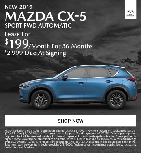 January   2019 Mazda CX-5