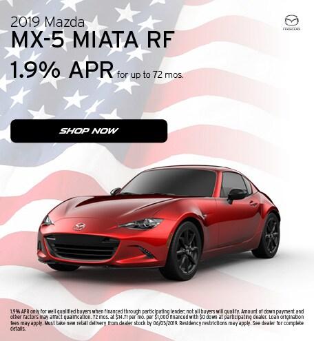 May 2019   2019 MX-5 Miata RF