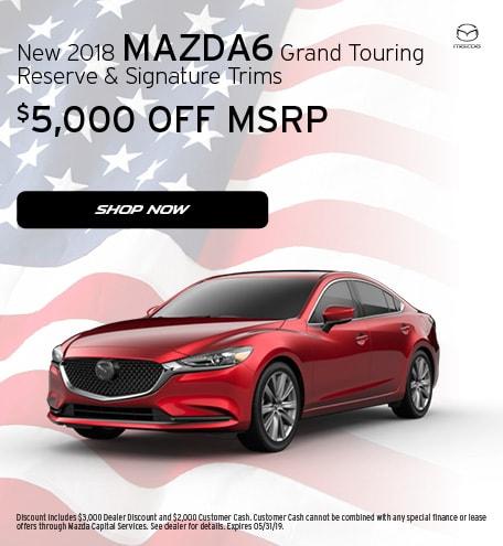 May 2019   2018 Mazda6 Grand Touring Reserve & Signature Trims