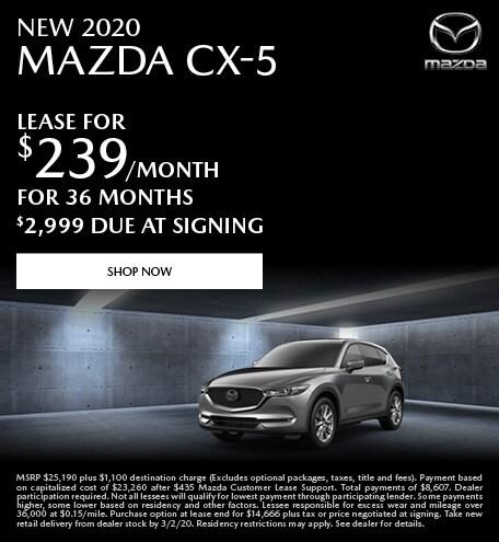 February | 2020 Mazda CX-5