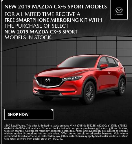 November | Mazda CX-5 Sport Mirroring Kits