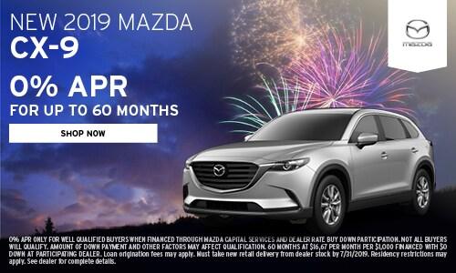 July | 2019 Mazda CX-9