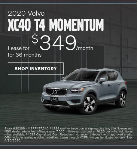 2020 XC40 T4 Momentum Lease