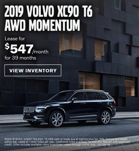 2019 Volvo XC90   West County Volvo