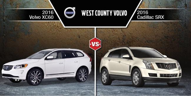 2016 Cadillac SRX Vs. 2016 Volvo XC60 CUV Comparison
