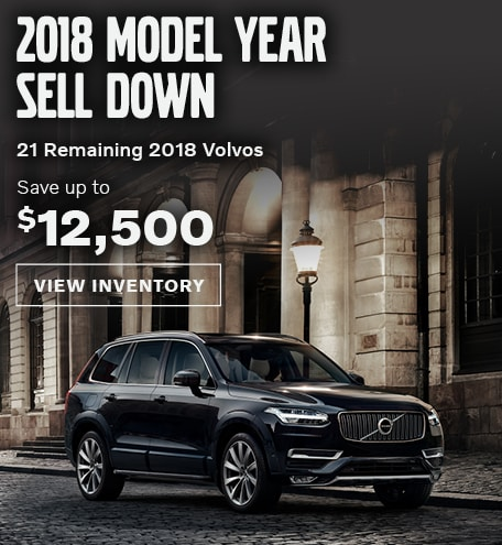 2018 Model Sell Down   West County Volvo