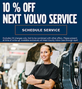 10% Off Volvo Service