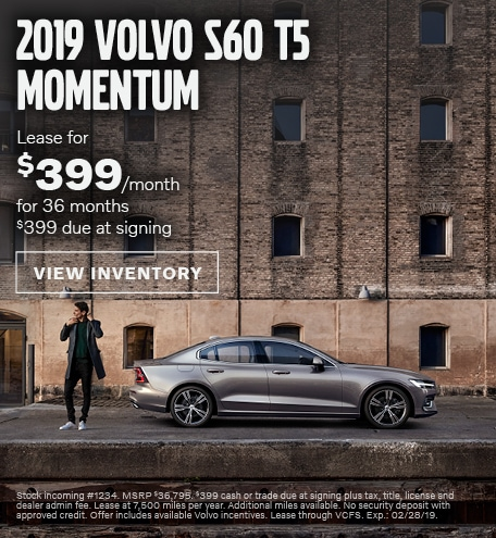 2019 Volvo S60   West County Volvo