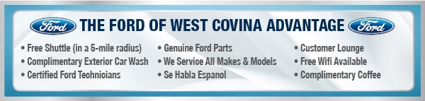 Ford of West Covina Service Advantage