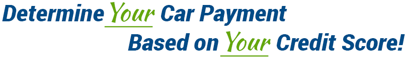 Determine Your Car Payment Based on Your Credit Score