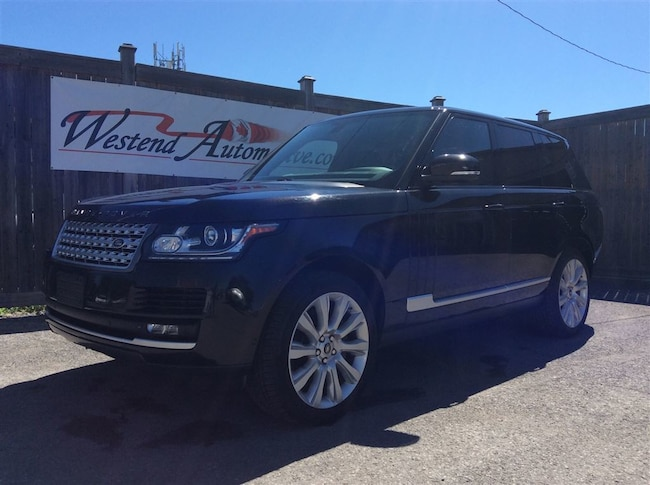 2013 Land Rover Range Rover Full size 5.0 Supercharge SUV