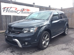 2018 Dodge Journey Crossroad Awd, 7 Passenger, Dvd, Sunroof