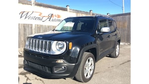 2017 Jeep Renegade Limited  29000 Kms