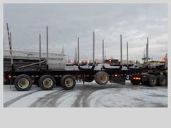 Used 2016 BWS Western Logger EZ-2-Load 50' Log Trailer  In Edmonton, AB
