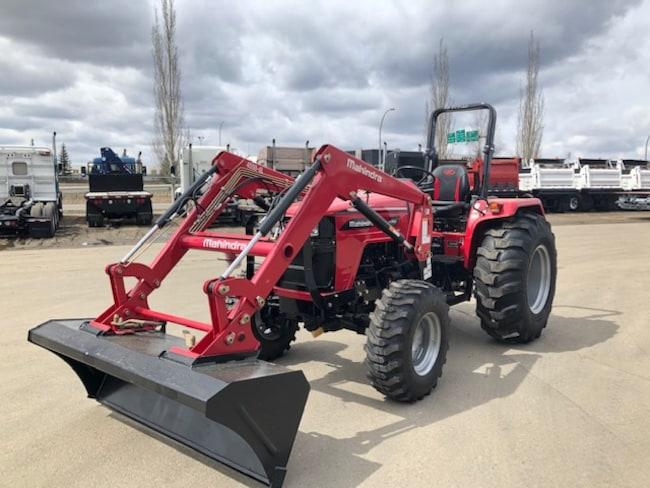 New 2019 Mahindra 4550 4WD in Edmonton, AB