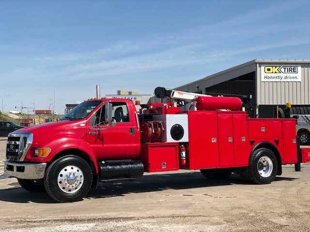 New 2009 FORD F750 Super Duty XLT  In Edmonton, AB