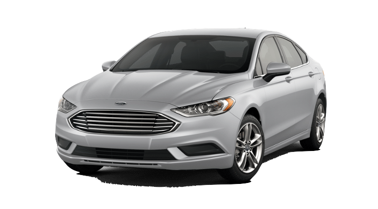2017 Ford Fusion - Silver